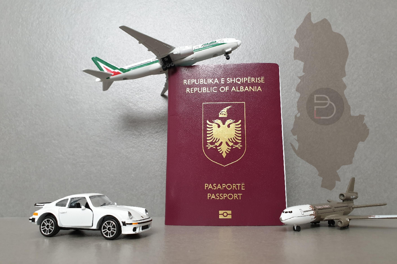 Posso andare con la ricevuta in Albania? - bajrak